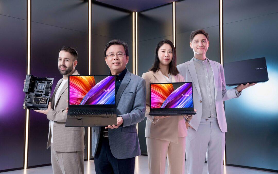 ASUS anuncia soluciones OLED y creador integral con Windows 11